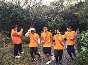 【写真】2016年  宮崎県 オレンジリボンたすきリレー