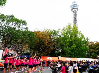 〈東京・神奈川〉  2017年  子ども虐待防止  オレンジリボンたすきリレー